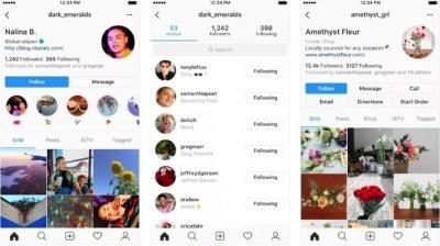 Instagram testa novo visual para a página de perfil